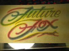 Vintage Iron On Heat Transfer Tshirt  Future Fox Teen Kids Foxy Beauty Pageant