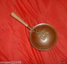 Vintage Copper Silent Butler / Ashtray Coat of Arms Des
