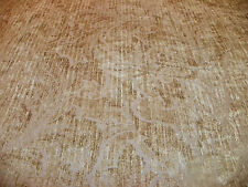 Harvest Gold Vine Print Chenille Upholstery Fabric 1 Yard R724