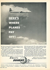 1951 Douglas Aircraft Airplane - Original Advertisement Print Ad J136