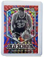 2019-20 Panini Prizm Mosaic Patrick Ewing Reactive Blue Old School Knicks #/99