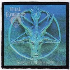 VITAL REMAINS PATCH / SPEED-THRASH-BLACK-DEATH METAL
