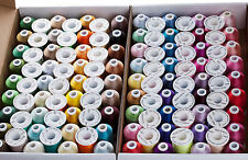 SIMTHREAD 40Wt Polyester Embroidery Home Machine Thread - 120 Colors, 1000M/pc