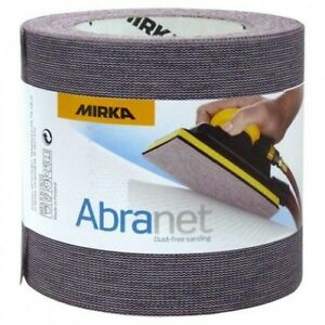 Mirka Abrasives Abranet Roll Sandpaper - 115mm x 10m *All Grits Available*