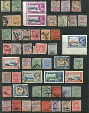 BRITISH GUIANA (22714): collection of old stamps
