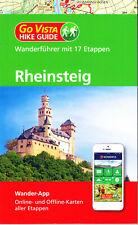 REISEFÜHRER Wanderführer Rheinsteig, Ausg. 2019/20 NEU + APP # mit Landkarten