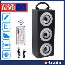 tragbarer Lautsprecher drahtlos USB SD MP3 Player UKW-Radio SUBWOOFER /S10 /QQ