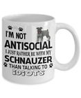 Schnauzer Dog,Schnauzer,Mittelschnauzer,Schnauzers Dog,Wire-Haired,Mug,Cup