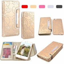 2 in 1 Detachable Wallet Magnetic Leather Case Cover For iPhone 6 6S Plus 5S SE