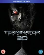 Terminator Genisys (Arnold Schwarzenegger) New 3D + 2D Region B Blu-ray