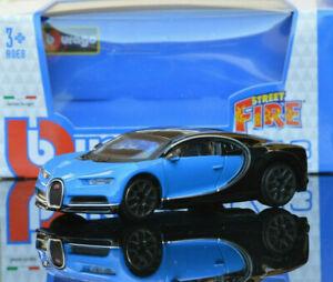 BUGATTI CHIRON 1:43 Model Miniature Toy Car Diecast Models Die Cast Blue