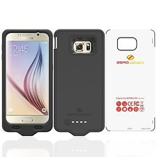ZeroLemon Samsung Galaxy S6 8500mAh Extended Extended Battery Case, Black, New