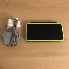 Nintendo 2DS XL Black & Lime Green Handheld Console