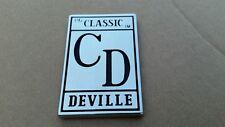 Cadillac Classic Deville grille emblem vintage rare hood cap e&g CD 50 60's 70's