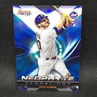 2019 Bowman's Best Pete Alonso RC Neophyte Sensations New York Mets Rookie #5