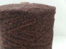 Wolle Garn Stricken weben&häkeln| Bouclè effektgarn  sehr dick braun 2kg  pay05