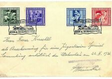 AUSTRIA Cover EXHIBITIONS *Tag der Briefmarke* Vienna 1936{samwells-covers}A213