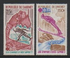 Dahomey - 1972, Winter Olympic Games, Sapporo set - MNH - SG 455/6