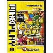 PS2 -  MaxPlay Classic Games Volume 1 (Region 4) Rare item