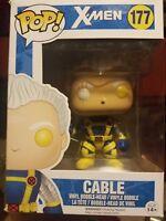 POP Vinyl Marvel X-Men Cable Figure NEAR MINT ! AWESOME XMEN SHIP SAME DAY