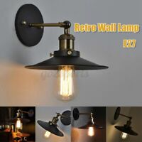 Retro Industrial Loft Rustic Hanging Sconce Wall Light Fixtures Porch/Bar Lamp
