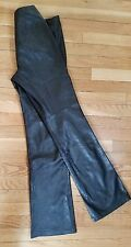 Danier Black Leather Pants Made in Canada Size Women US4