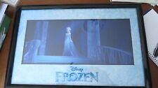 Frozen Lithograph Framed