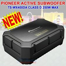 PIONEER TS-WX400DA 250 W MAX CAR AUDIO COMPACT ACTIVE SUBWOOFER W/ BUILT-IN AMP