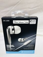 SENNHEISER CX-2.00 Earbuds iOS, White Model : CX2.00IW New