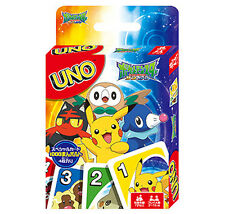 POKEMON SUN & MOON UNO Playing Cards Game Japanese Animation