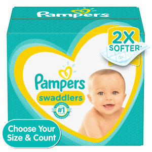 Pampers Swaddlers Disposable Diapers *Preemie, Newborn, 1, 2, 3, 4, 5, 6, 7