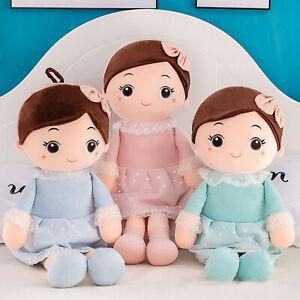 Cloth Doll 14'' Handmade Knitting Rag Dolls Girl Dolls Soft Toys Gift for Girls