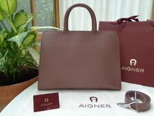 *Neu* AIGNER Damen Tasche Cybill, Leder, Größe: M, Braun, Neupreis: 900,- €
