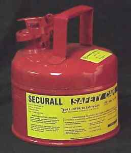 SAFE-T-WAY 1-Gallon TYPE 1 SAFETY GAS CAN
