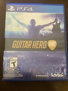 Guitar Hero Live Playstation 4 PS4 *Game Disc And Case Mint Condition