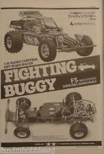 New Tamiya 2014 Fighting Buggy / Super Champ Rerelease Instruction Book 1058268