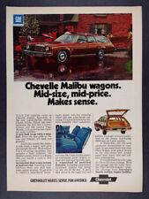1974 Chevrolet Chevelle Malibu Classic Estate Station Wagon vintage print Ad