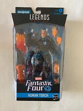 """New listing HUMAN TORCH JOHNNY STORM Marvel Legends Fantastic Four Super Skrull BAF 2019 6"""""""