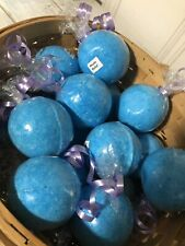 Huge Lot Of 10 Muscle Relief Ache Relaxation Bath Bombs, Pain Relief, Spa Pedi