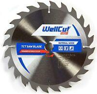 WellCut TCT Saw Blade Profi 200mm x 24T x 30mm Bore