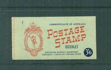 Australia 1953 3s 6d QEII  Booklet SG SB31