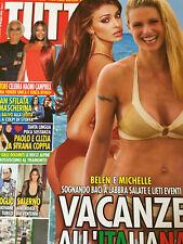 Tutto 2020 21.Michelle Hunziker & Belen Rodriguez,Sabrina Salerno,Naomi Campbell