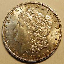 Usa   One Dollar 1887  Silver Morgan  AUNC/UNC Very Nice Coin