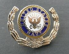 USN Wreath Lapel Pin 1.25 inches US Navy
