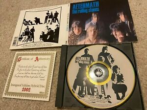 Rolling Stones - Aftermath SACD Hybrid CD Certificate Of Authenticity