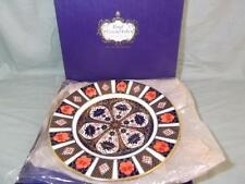 "Royal Crown Derby Plate 10½"" Old Imari Pattern 1128 Boxed"