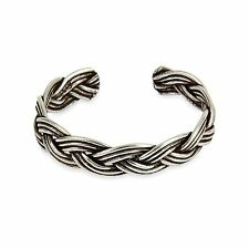 Plait Adjustable Toe ring 925 Solid Sterling Silver Woven