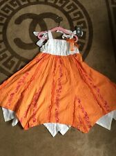 Beautiful Little Girls Dress Age 5 110 Toff Togs Rrp£55