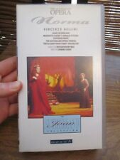 The Australian Opera Norma  VHS Video Tape (NEW)