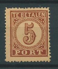 1881TG Nederland Portzegel  P1 postfris net zegel zie foto's..